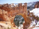 Natural Bridge in Bryce National Park, UT
