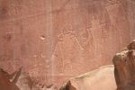 Petroglyphs in Capitol Reef National Park, UT
