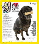 Pets in the City Aug 2012 cover