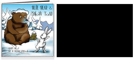 Blue Bear & Snow Toad