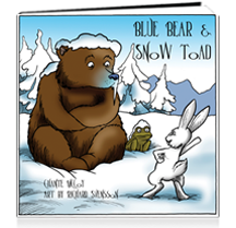 Blue Bear & Snow Toad