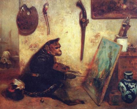 title_alexandre-gabriel-decamps-the-monkey-painter-1833